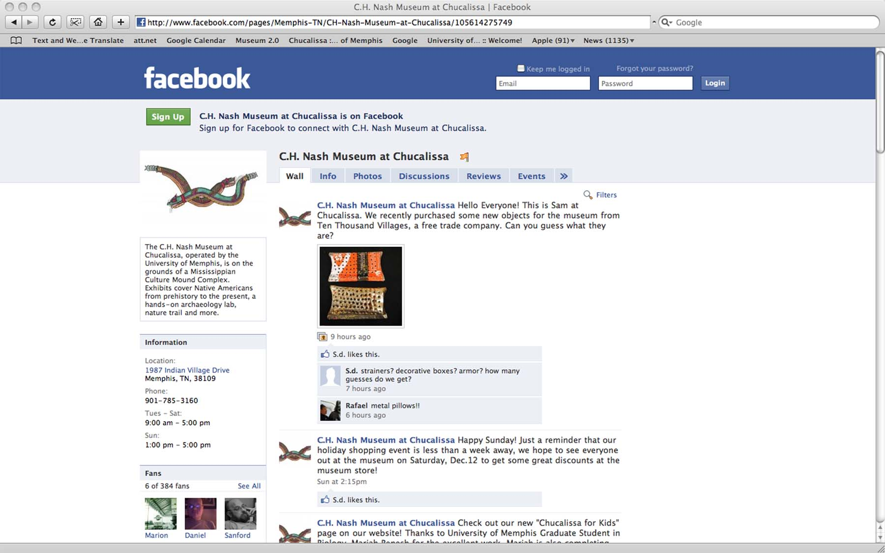 social media facebook enewsletters blogs oh my archaeology museums amp outreach